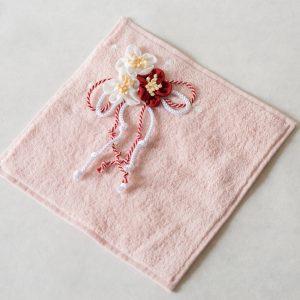 お華の想い ミニタオル(ピンク)